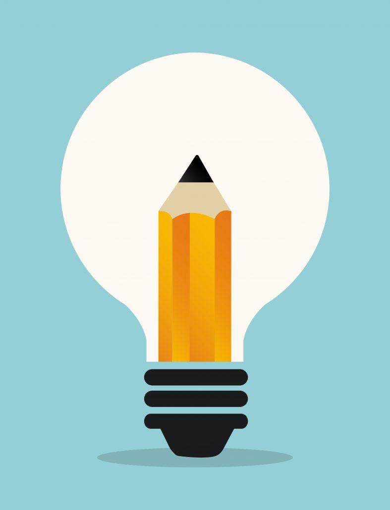 idea icon design, vector illustration eps10 graphic
