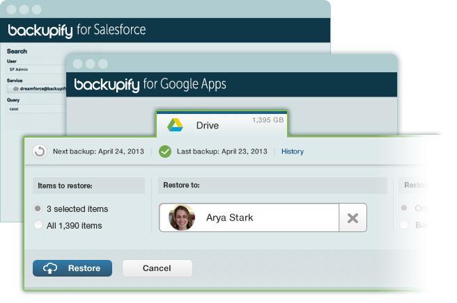 backupify demo_screenshots
