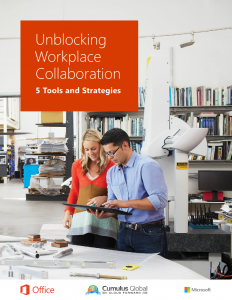 Unblocking Workplace Collaboration